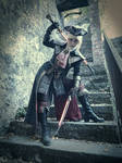 Lady Maria of the astral clocktower cosplay