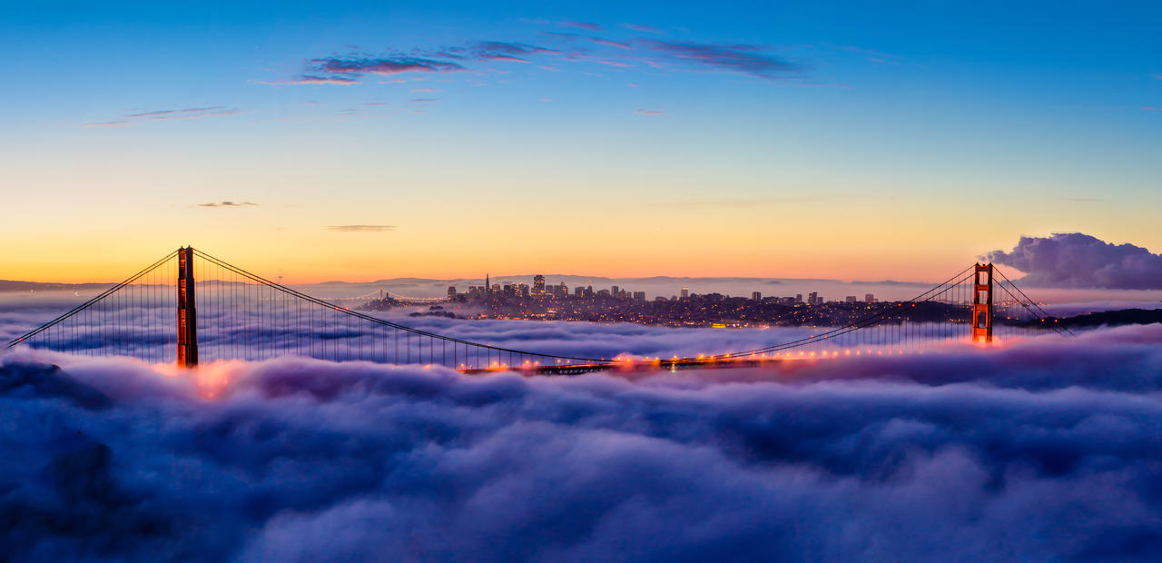 Golden Gate Sunrise by ian1389