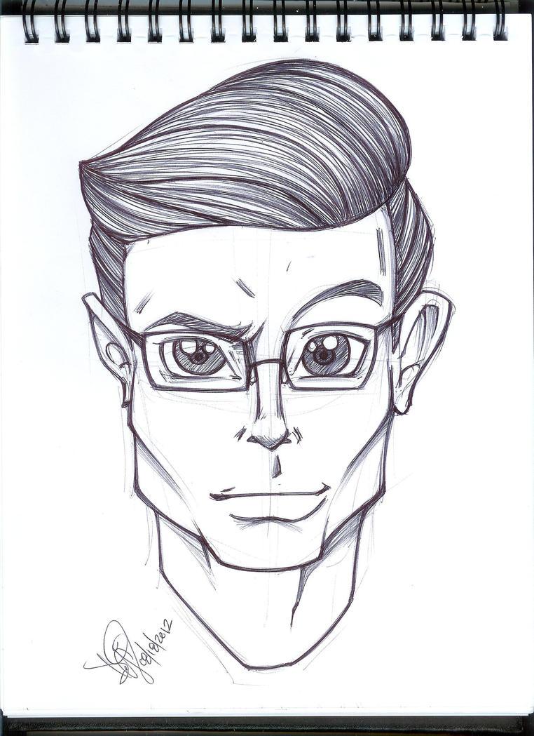 Stephen Colbert by emceelokey