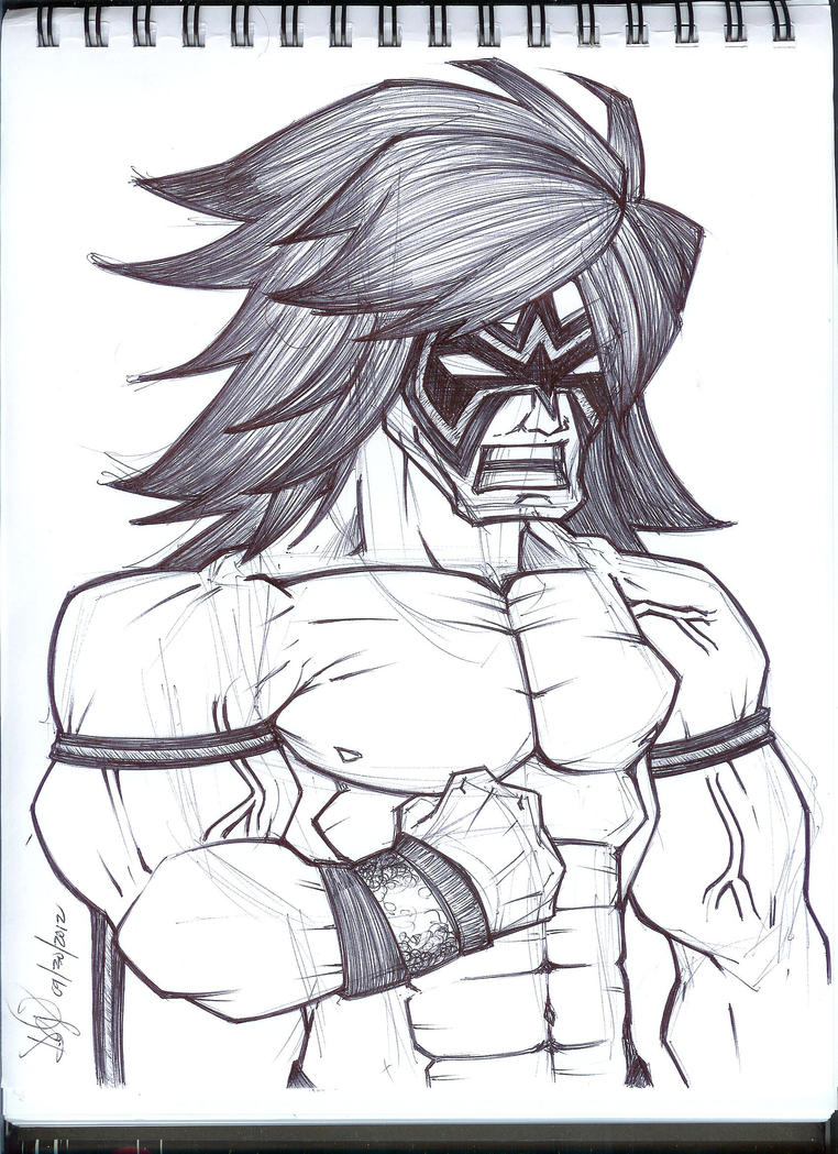 Ultimate Warrior by emceelokey