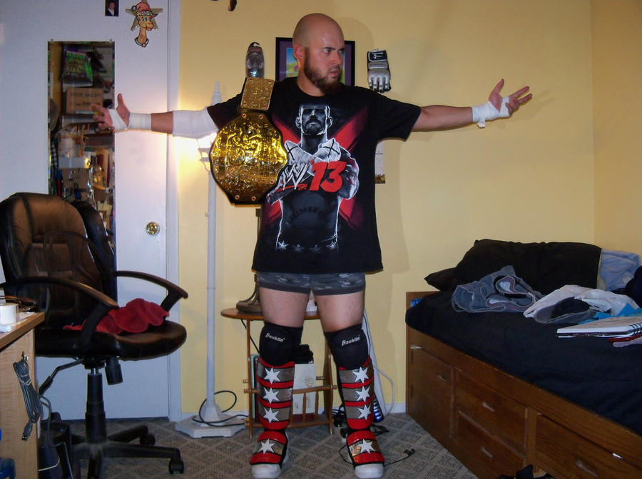 CM Punk cosplay by emceelokey