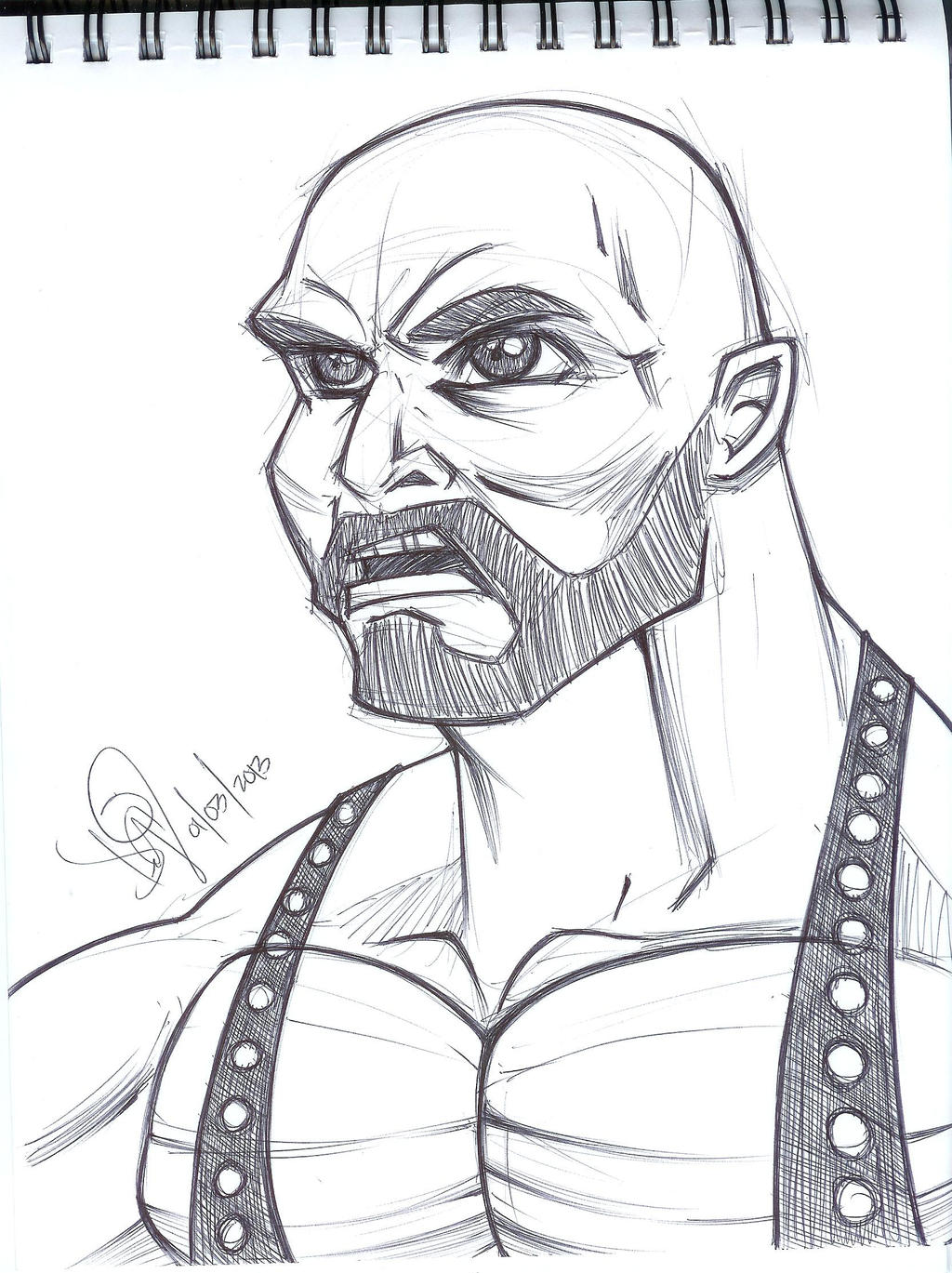 Aj Styles Wwe Coloring Pages Coloring