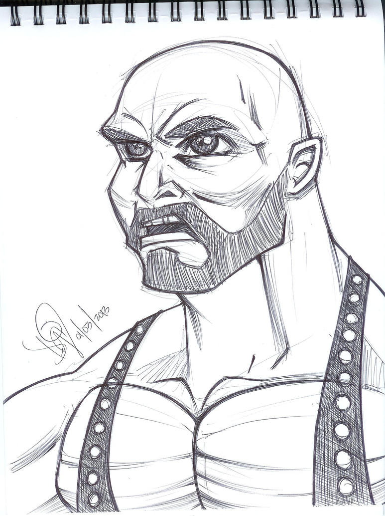 ryback coloring pages