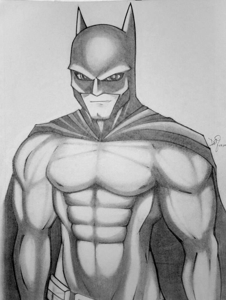 Sexy Batman by emceelokey