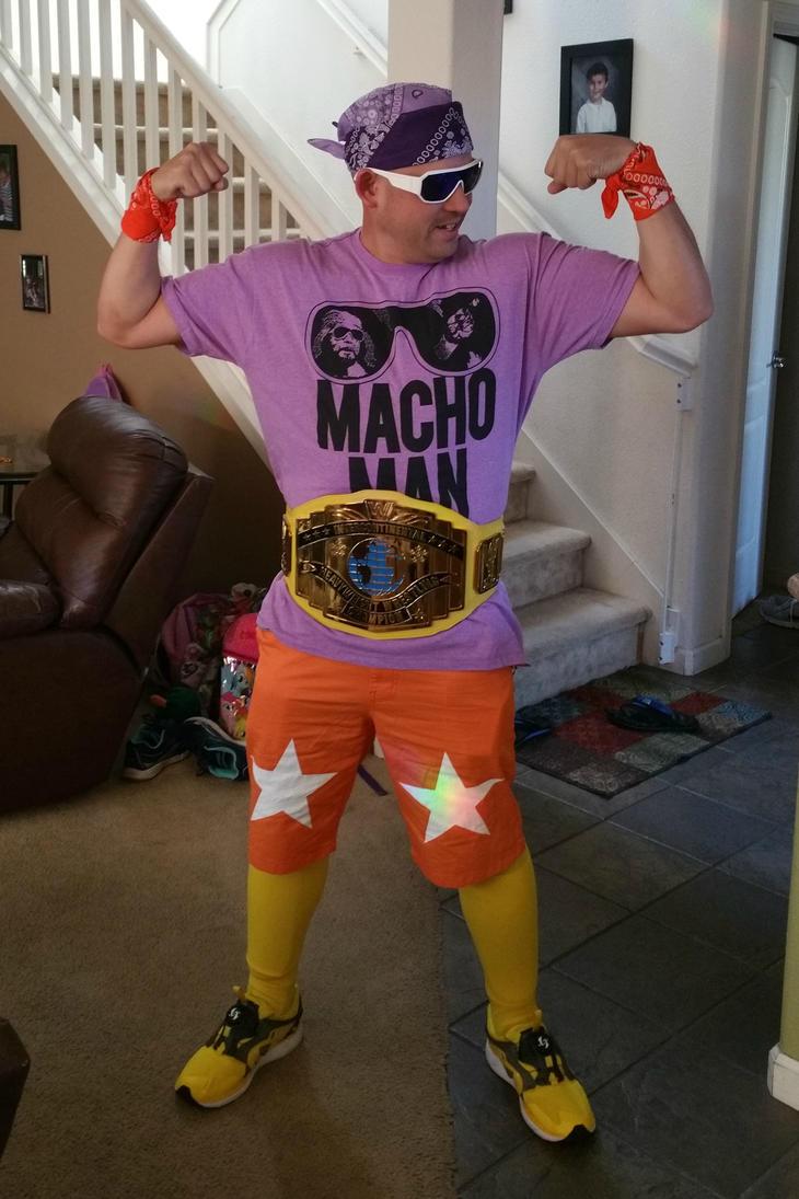 Macho Man Mania ready by emceelokey