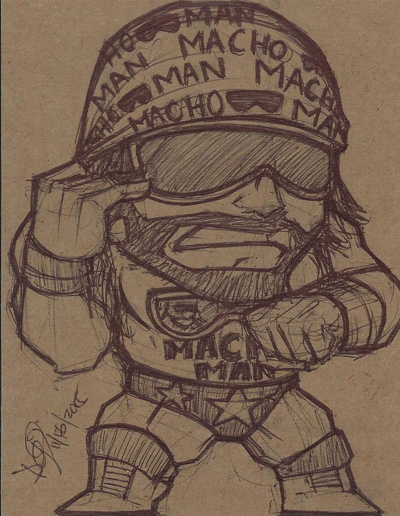 Macho Man by emceelokey