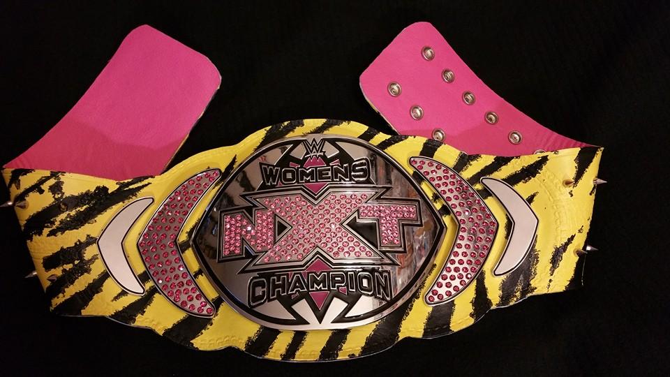 Asuka Custom Nxt Women's Championship Belt by emceelokey