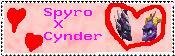 Spyro x Cynder Stamp