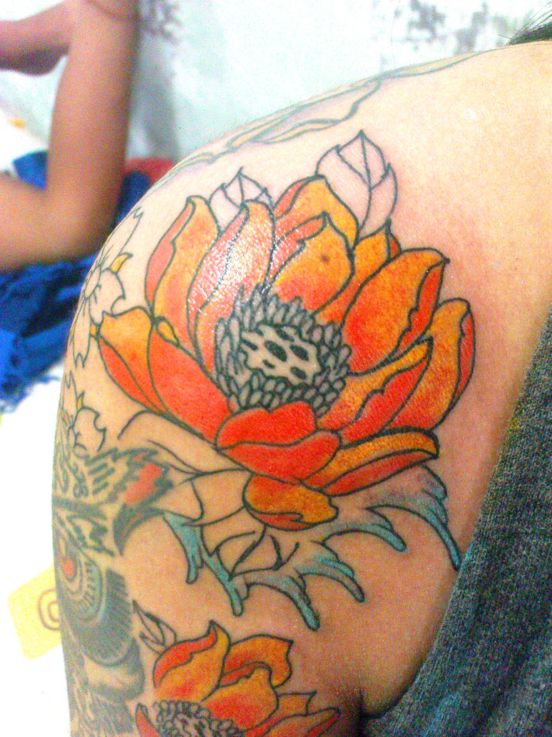 Lotus flower tattoo by dresmith on deviantart lotus flower tattoo by dresmith izmirmasajfo