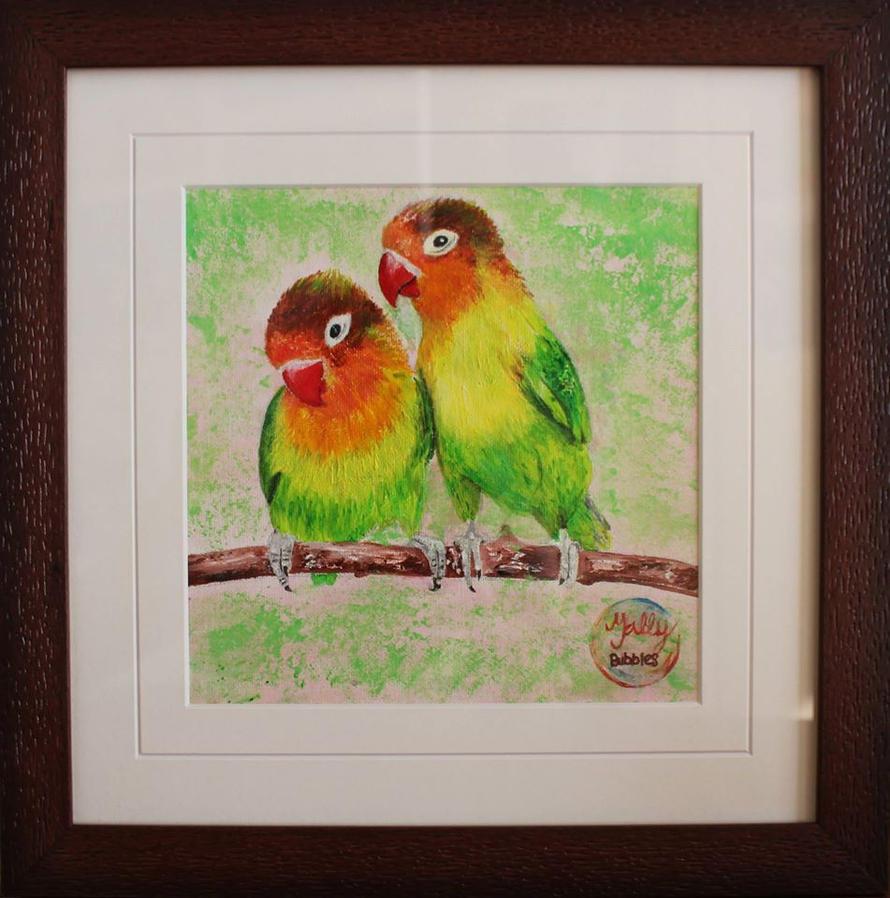 Love Birds by Tally-Bubbles