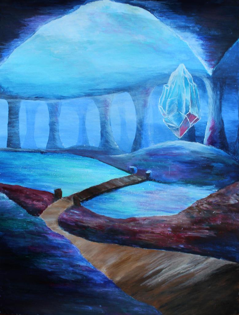 Arcane Shard by Tally-Bubbles