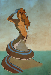 By the Sea by SepiSnake