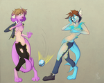 Commission: Disorienting Dive Ball Discharge 02