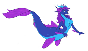 Stream Sketch: Mermaid Icewind