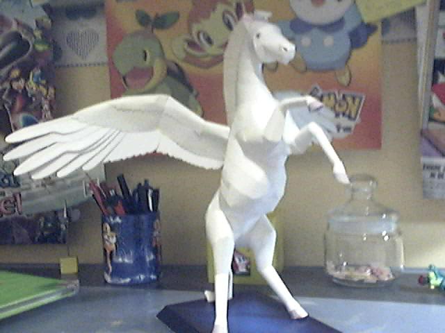 Pegasus Papercraft by Marlous2604