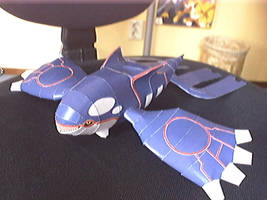 My fav papercraft Kyogre by Marlous2604