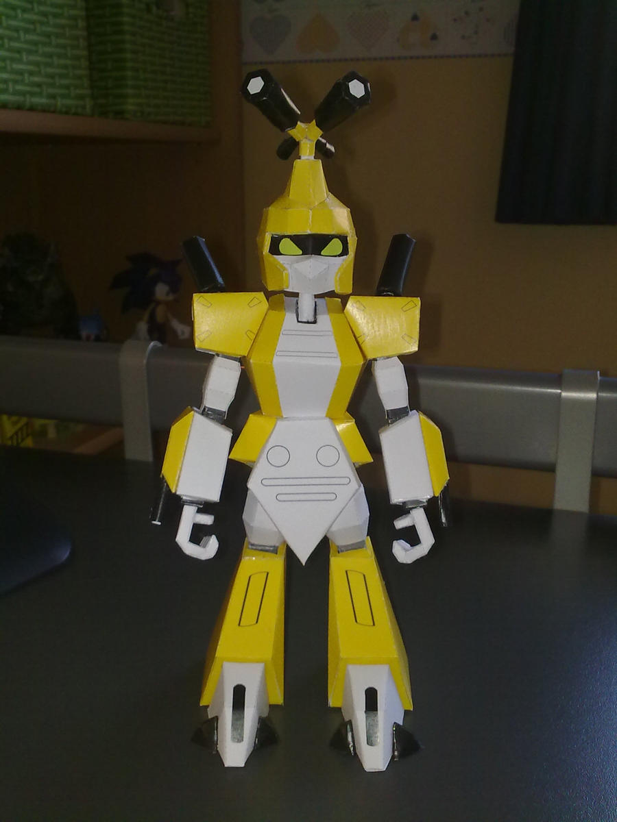 Metabee papercraft 1 by Marlous2604