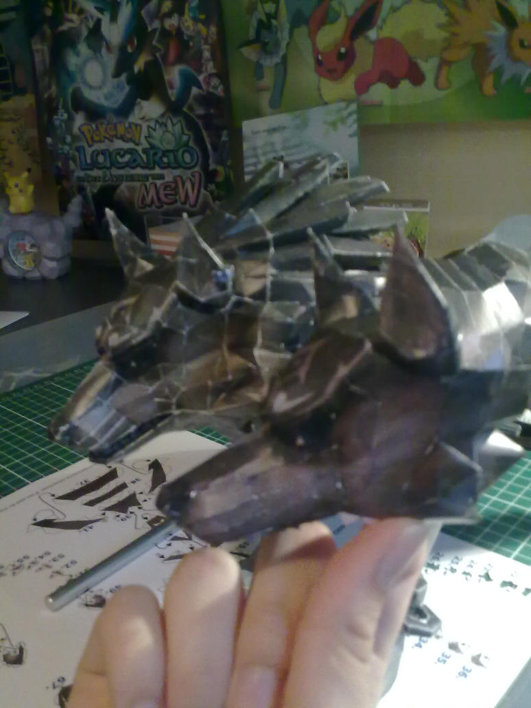 Day 2 WIP second Wolf link by Marlous2604