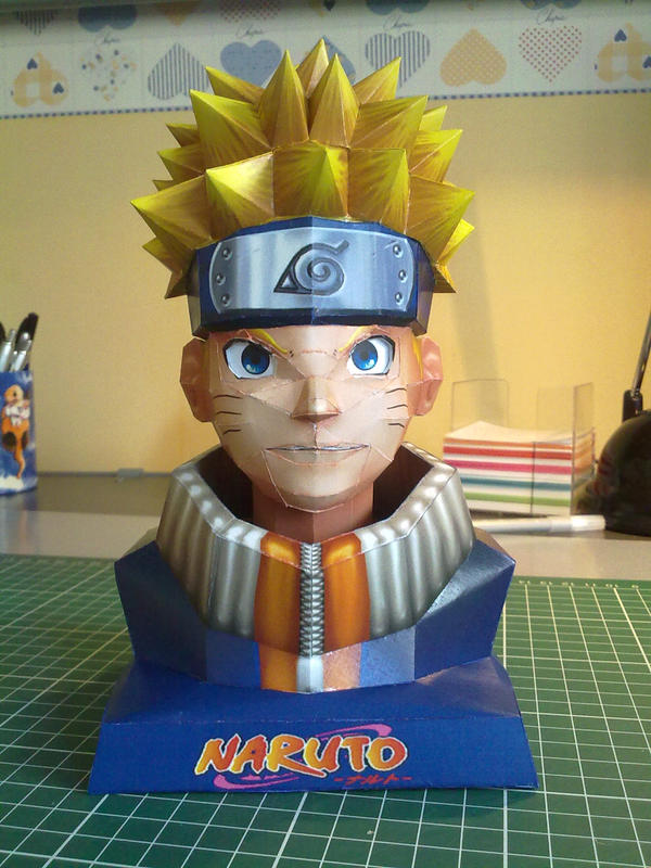 Naruto papercraft by Marlous2604