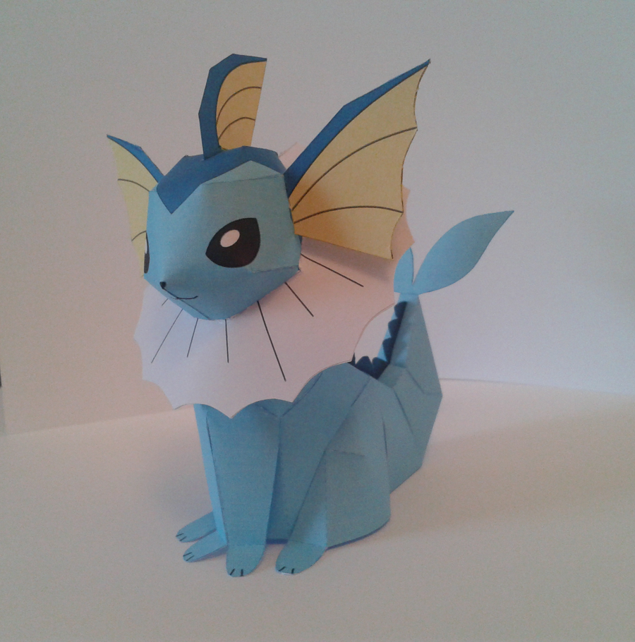 Vaporeon papercraft by Marlous2604