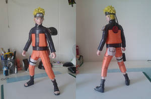 Paper Uzumaki Naruto by Marlous2604