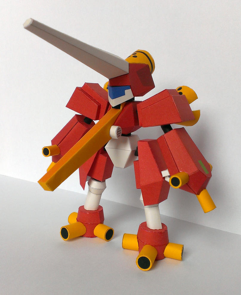 Arcbeetle papercraft by Marlous2604