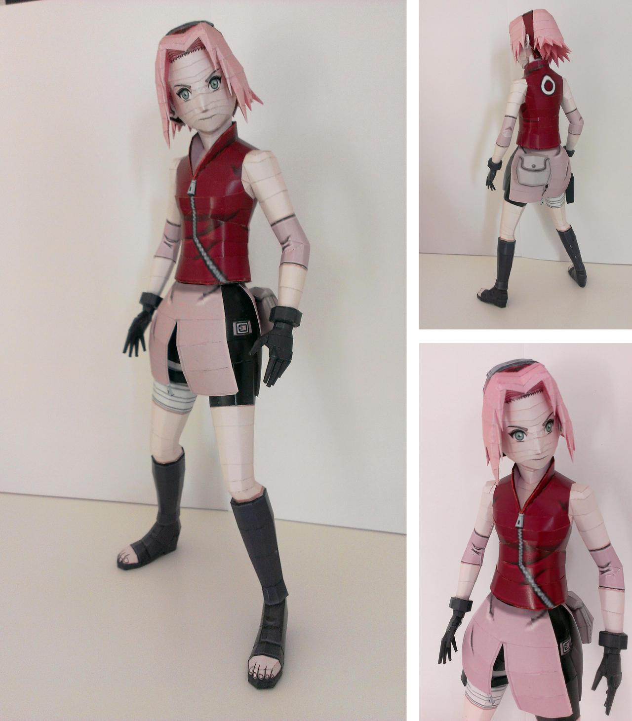 Sakura papercraft by Marlous2604