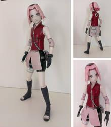 Sakura papercraft