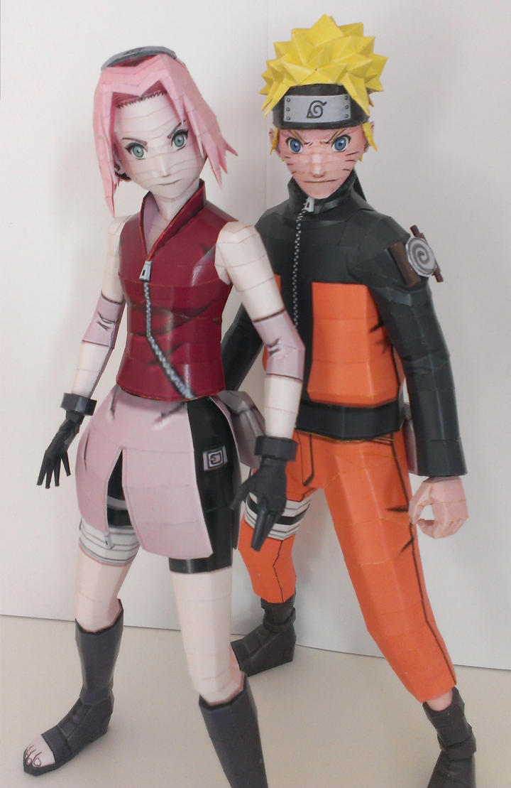 Naruto and Sakura by Marlous2604