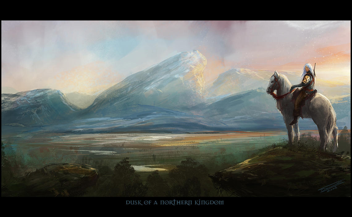 Dusk of a Northern Kingdom by dominuself