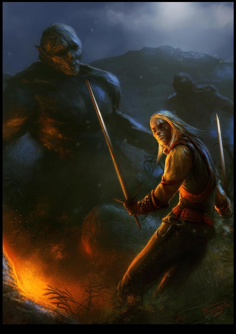 Night Ambush by dominuself
