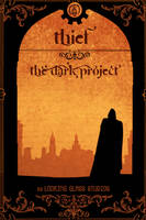 THIEF vintage book cover by dominuself