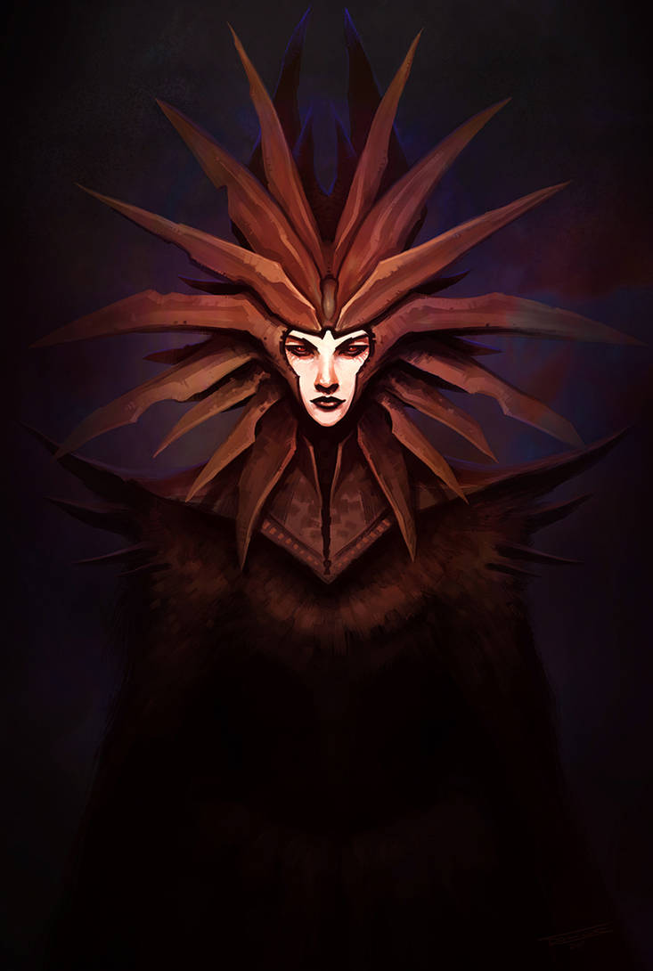 Lady of Pain by dominuself