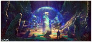Gaia cave concept