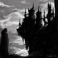 Dracula's castle by dominuself