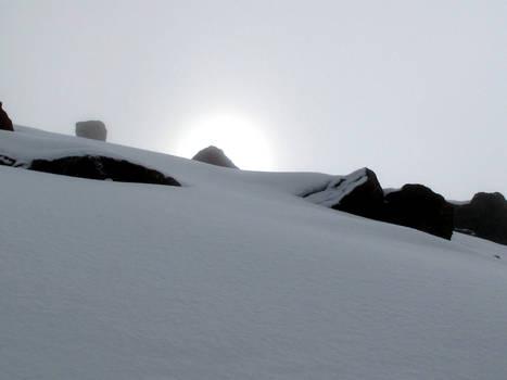 Snow on Mt. Kenya