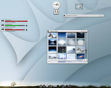 Enlightenment Desktop April