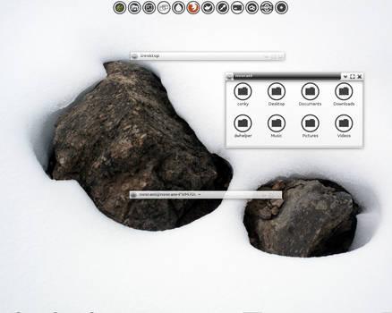 E17 Bodhi June Desktop