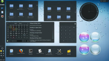 My KDE setup on openSUSE