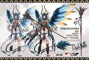 Custom Wirahasdin 03 for Ecnadonvella by Devil-Nutto