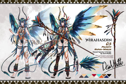 Custom Wirahasdin 03 for Ecnadonvella by Devil-Nutto
