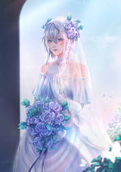 Winter - Wedding dress by Devil-Nutto