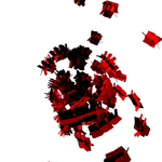 C4d Render red