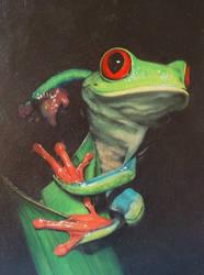 Frog by nancysart