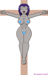 Raven's Crucifixion *UPDATED* by Bramble-Violet