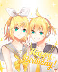 Happy 8th Anniversary, Rin and Len.