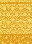 Yellow saree pattern