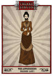 The Astonishing Bearded Woman by LaTaupinette