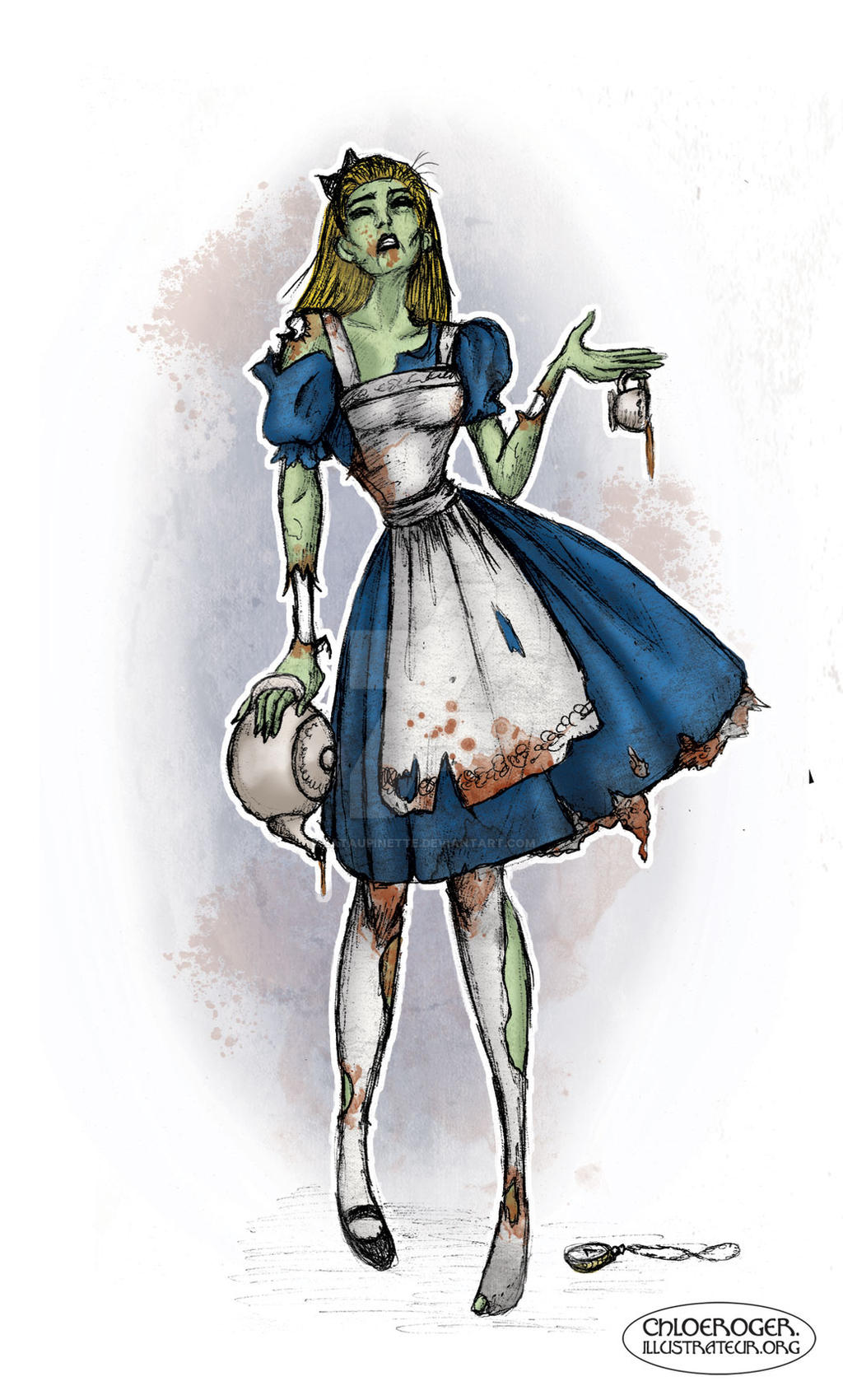 Alice in Zombieland by LaTaupinette