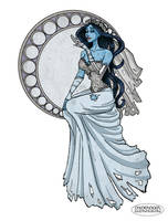 Corpse Bride : Emily by LaTaupinette